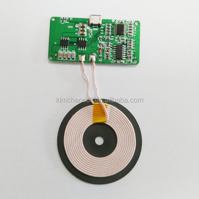 Wireless Charger Power Supply 3xcoil Pcba Circuit Board Diy 5v For