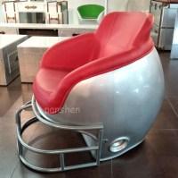 Fiberglass Ny Giants Football Helmet Chair By Ryan ...