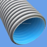 Hdpe Double-wall Corrugated Pipe - Buy Hdpe Pipe,Hdpe Pipe ...