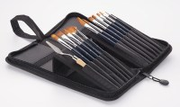 Artist Paint Brush Canvas Holder - Buy Paint Brush Canvas ...