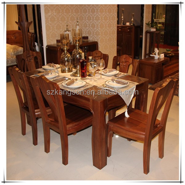 Modern Design Long Narrow Wooden Dining Table  Buy Table