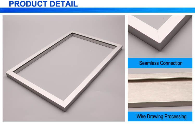 Aluminum Snap Frame Extrusion   Viewframes.org