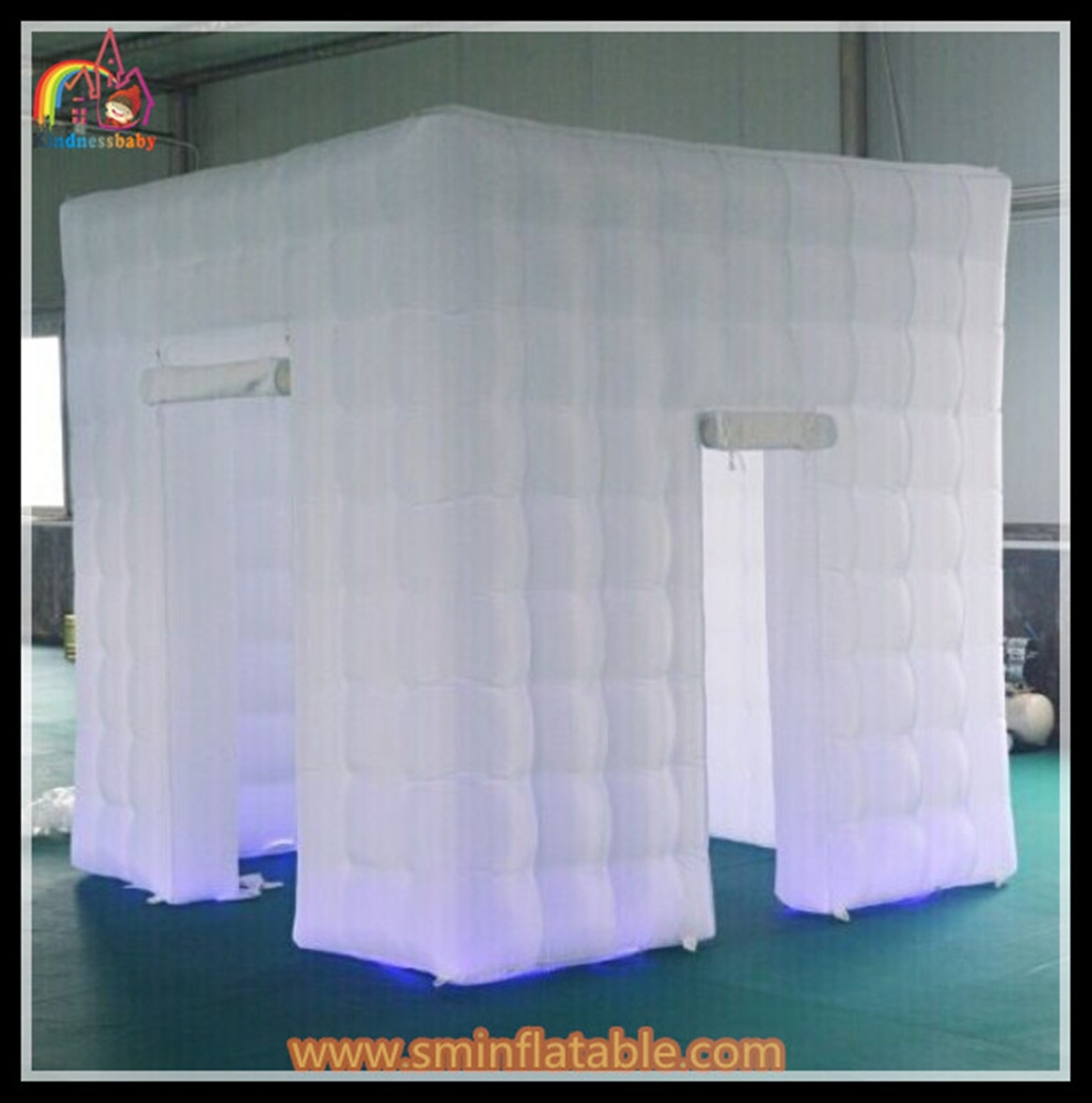 Portable Inflatable Led Photo Booth Open Air Blow Up Booth
