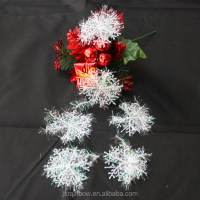 Cheap White Snowflakes Christmas Tree Decoration For Party