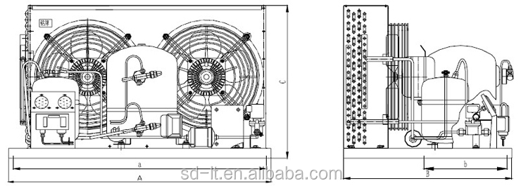 Hgm(z)/mgm(z)hermetic Air Cooled Condensing Units(maneurop