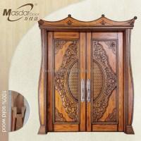 Indian Style Main Wooden Double Door Design - Buy Main ...