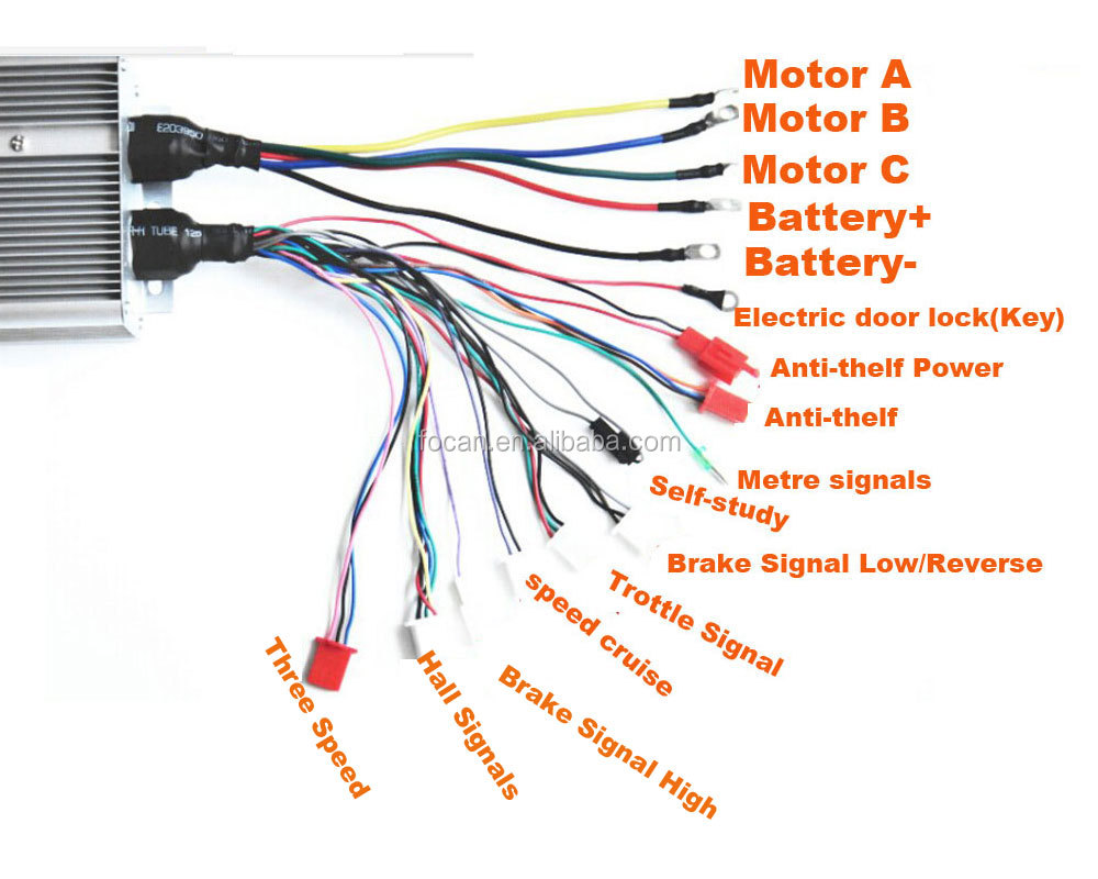 electric scooter motor controller wiring diagram smoke detectors bike pictures