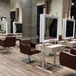 Cheap Pedicure Chairs Tiger Print Chair Covers Fashion European Design Spa Reception Desk Beauty Salon Desks - Buy ...