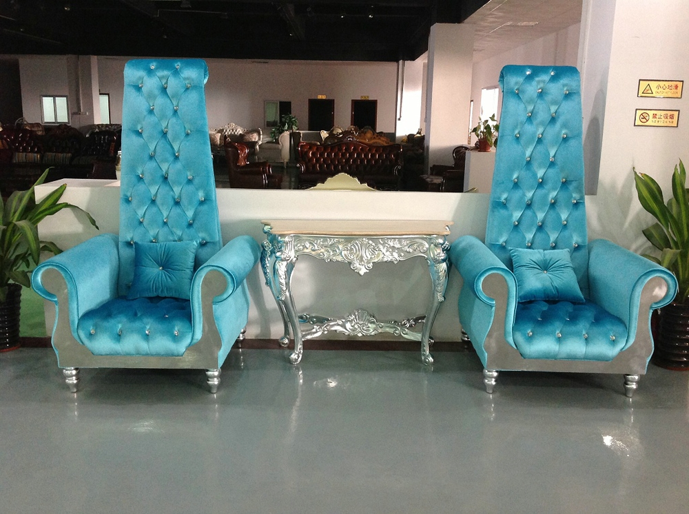 alibaba royal chairs blue parson chair covers 1-seater wedding throne for bride and groom - buy sale,chairs ...