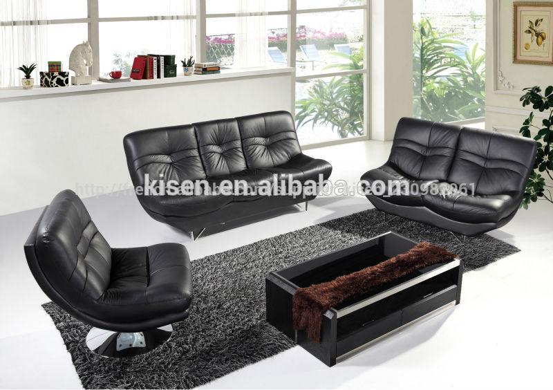 Meubles De Maison Moderne En Cuir Aspect Blanc Sofa
