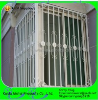 Simple Wrought Iron Sliding Window Grill Design - Buy ...