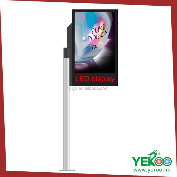 Outdoor Advertising Light Box Display