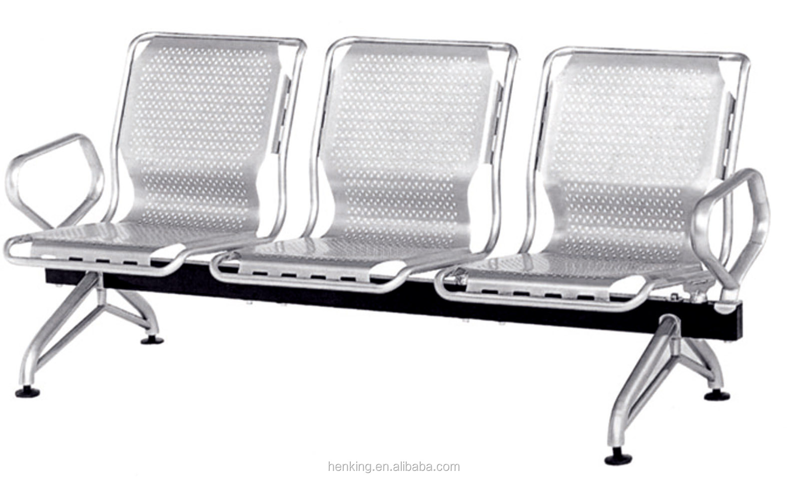 steel airport chair bedroom pictures henking high quality 3 seater stainless