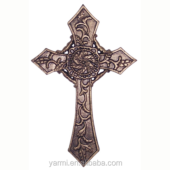 Decorative Metal Wall Cross
