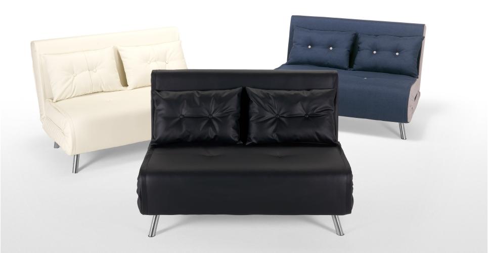 Haru Small Sofa BedQuartz Blue 2 Seater Sofas  Buy 2