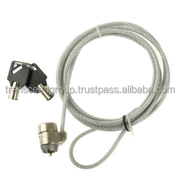 Wire Rope Security Cable With Key Lock,Suitable For