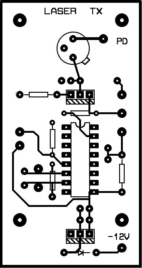 Laser Transmitter Circuit