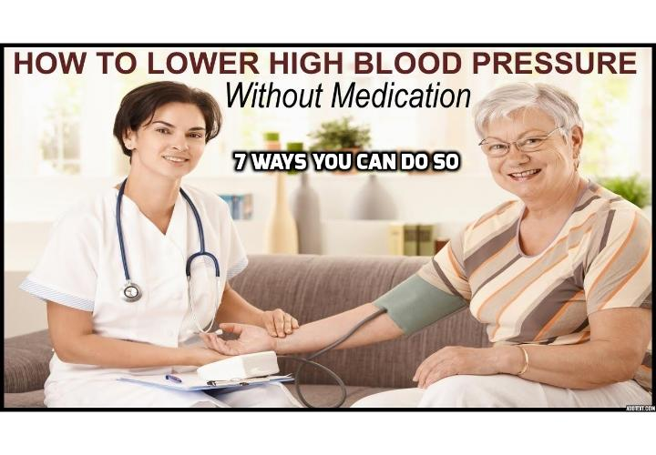 7 Ways You Can Lower Blood Pressure Without Medication - Heart disease and stroke rank among the top five causes of death in the U.S. They're also both commonly caused by one condition: hypertension. This makes it more essential that you should find ways to lower blood pressure as soon as you can.