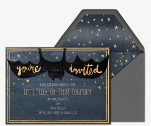 You Re Invited Bat Invite Invitation