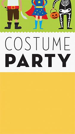 Skeleton ring toss 00:59 ske. Free Online Halloween Invitations For Kids Evite