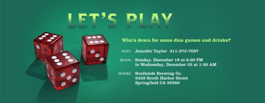 Free Game Night Invitations Evite