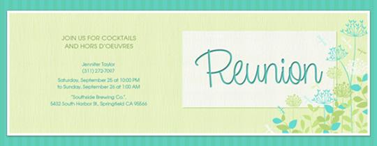Reunion Invitation Card Format – Reunion Invitation Template