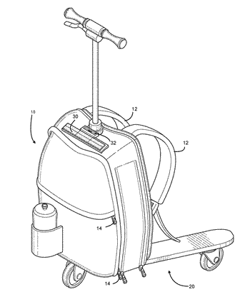Backpack-related patent applications