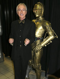 Anthony Daniels e seu alterego, C3P0