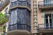 Bay Window In Art Nouveau Style Barcelona Andrey 19