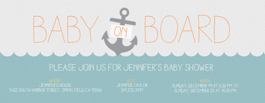 Celebrate summer with a fun bbq party. Free Baby Shower Invitations Evite