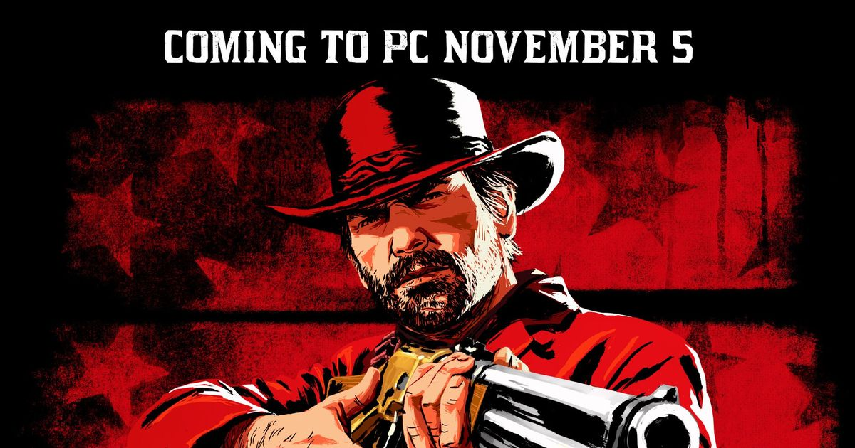 Red Dead Redemption 2 PC release date confirmed as November 5th | g2mods.net