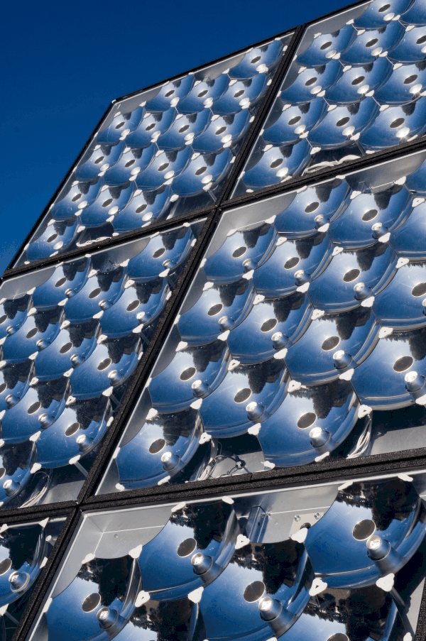 Solar concentrators for Concentrated-solar technology systems