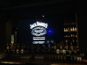 The Bar at The Spirit House taken over by Jack Daniels's