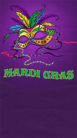 free mardi gras invitations evite