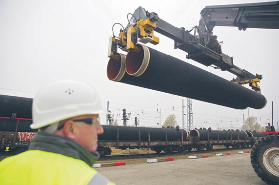 Teraz sprawą gazociągu Nord Stream 2 zajmie się Rada UE fot. Axel Schmidt/Materiały prasowe