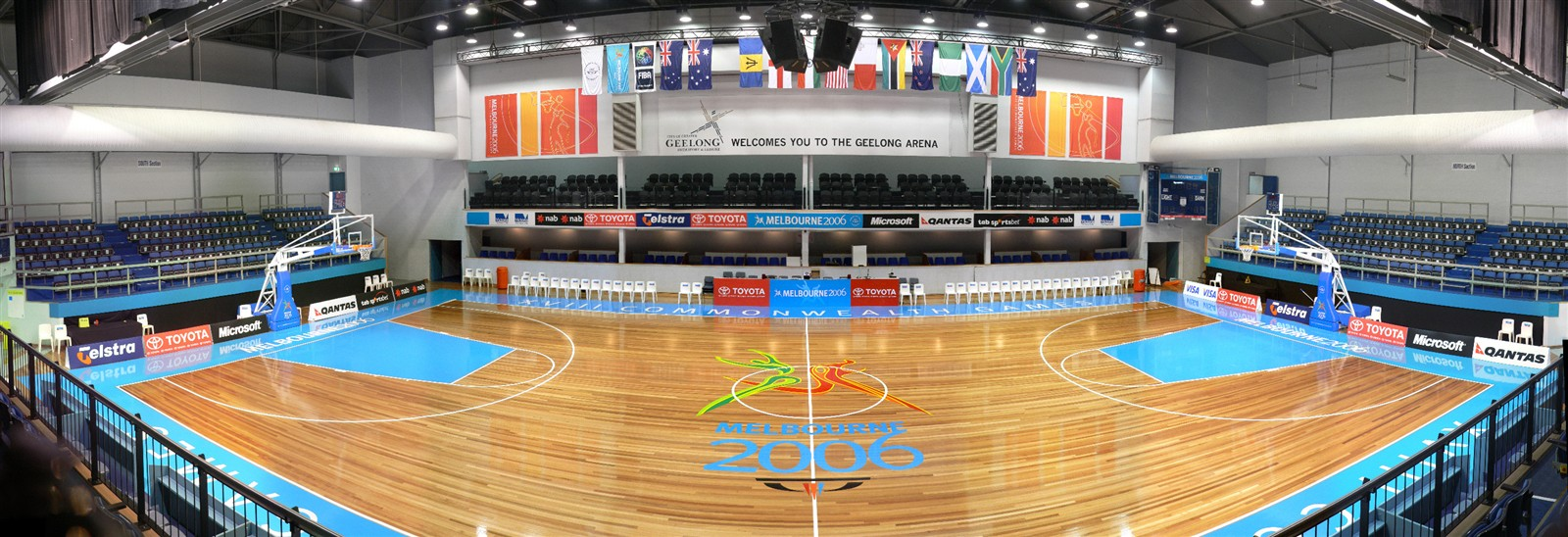 Worlds Smallest Basketball Stadium