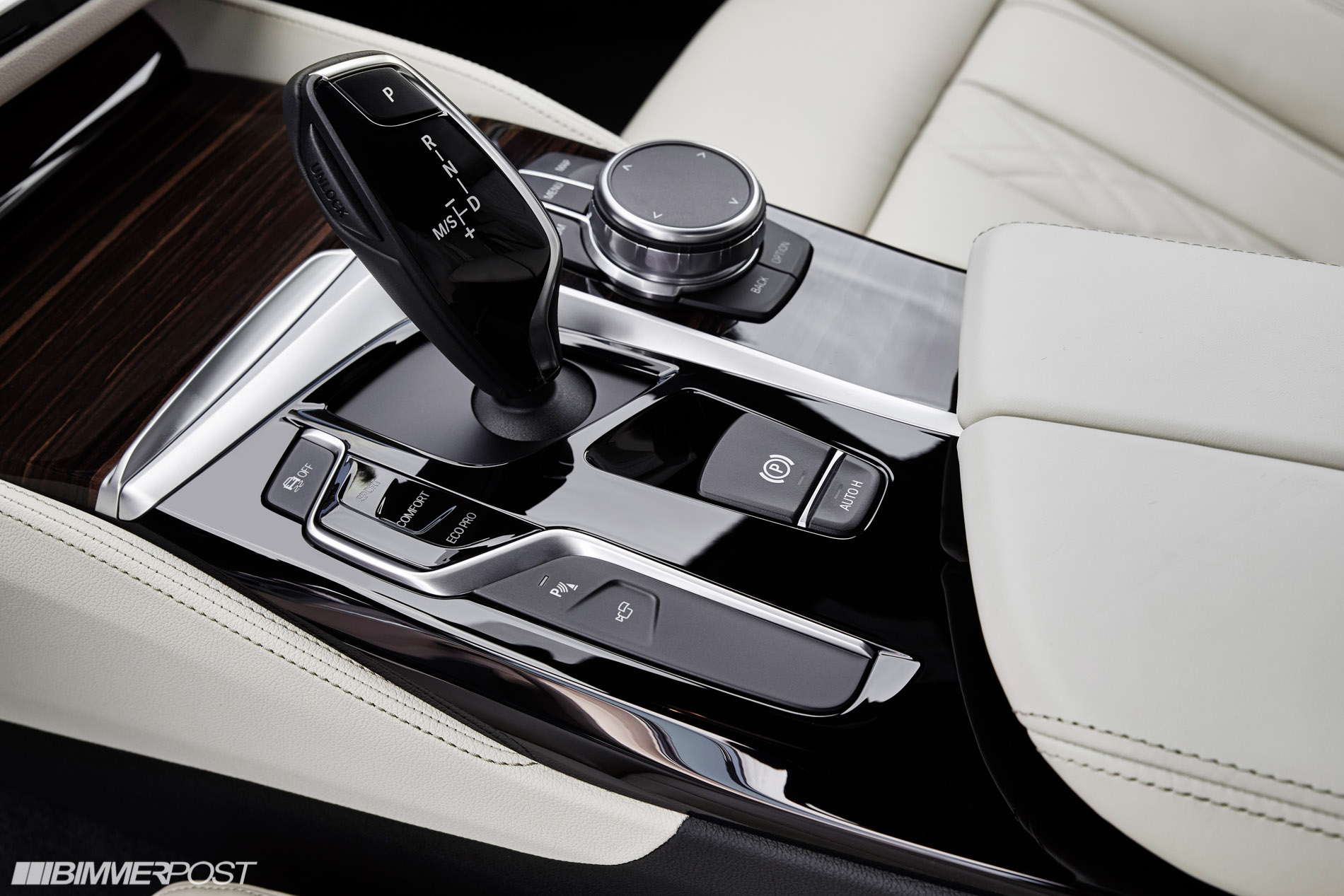 Gray Poplar Wood Trim Bmw