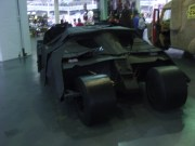 The Batmobile from Nolan's Dark Knight Trilogy