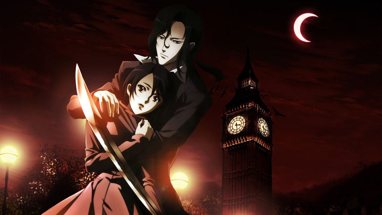 G33k Anime Girl Wallpaper Blood Vampires Monsters And Swords Oh My Sp00k P0p