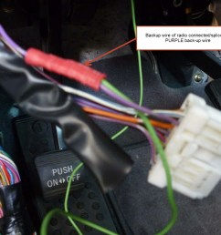installing a backup camera which harness wire indicates backuphow to hook up backup camera to radio [ 1440 x 1080 Pixel ]