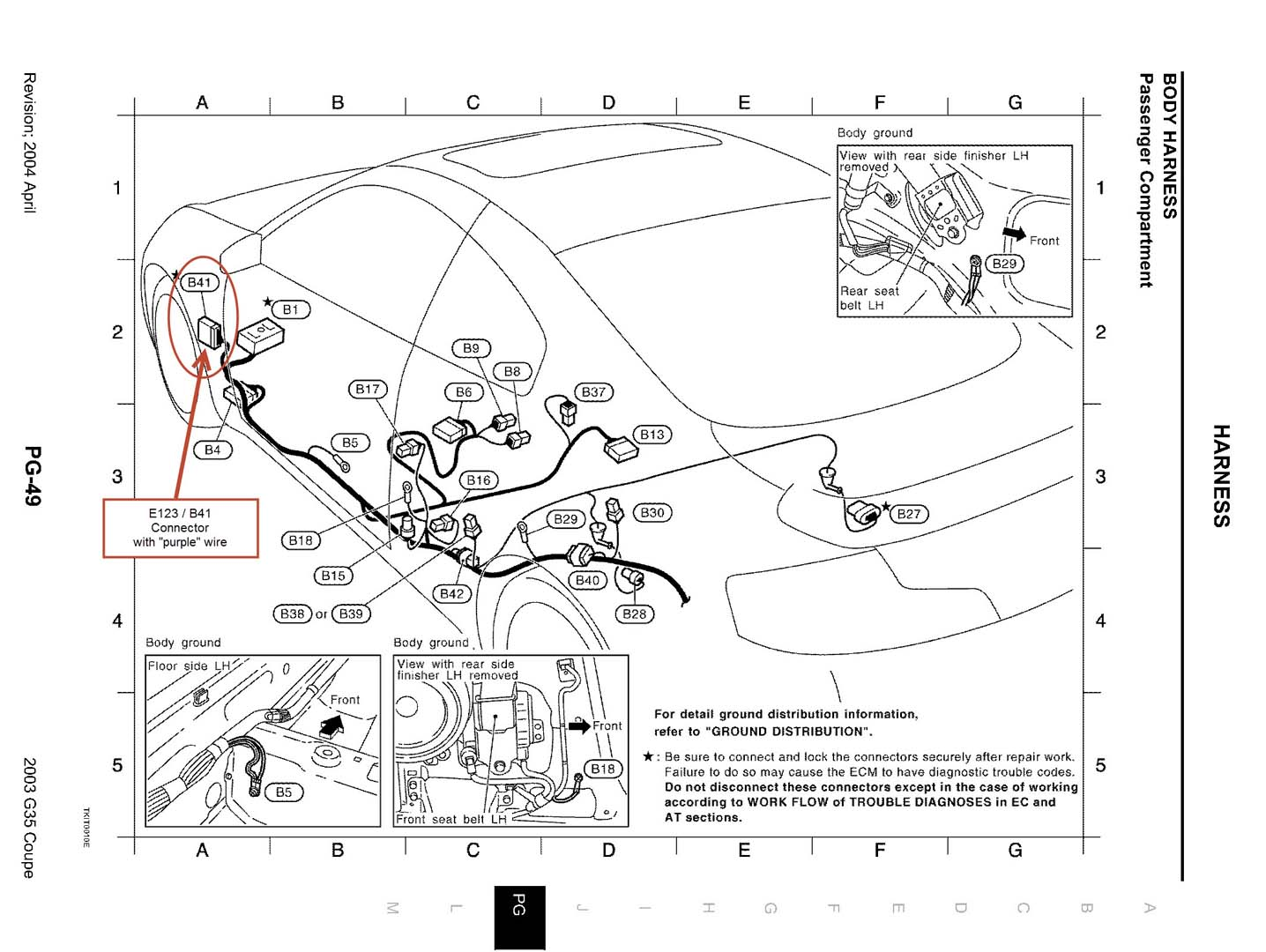 infiniti fx35 headlight wiring diagram