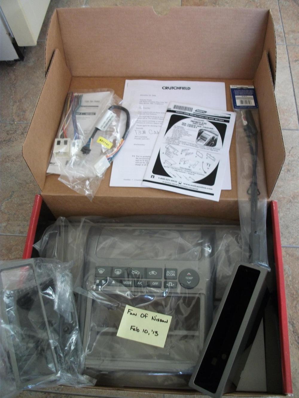 medium resolution of  metra 2 din install kit 99 7604 maryland 0 metra