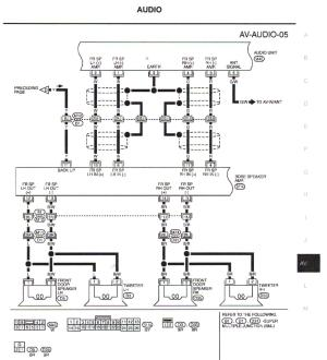 Bypassing Bose Amplifier 0304 G35  G35Driver  Infiniti