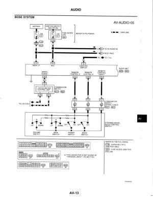 bose wiring diagram  G35Driver