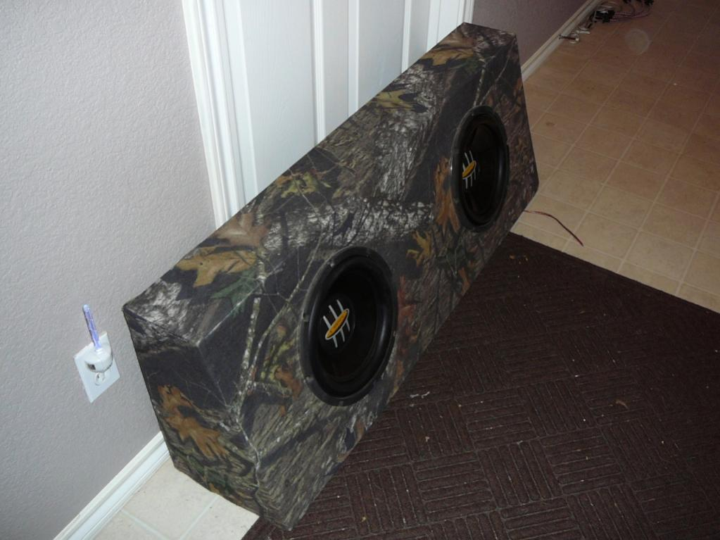 25 Dual Sub Box 12 With Speakers