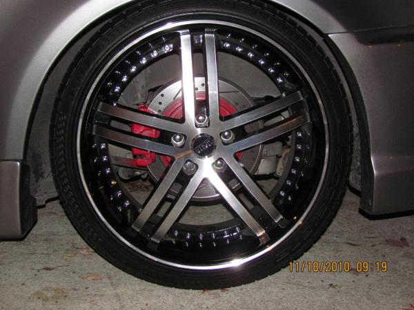 Fs 20 Staggered Status Knight Wheels Rims