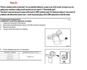 DIY Cam Position Sensor Easy Version  G35Driver  Infiniti G35 & G37 Forum Discussion