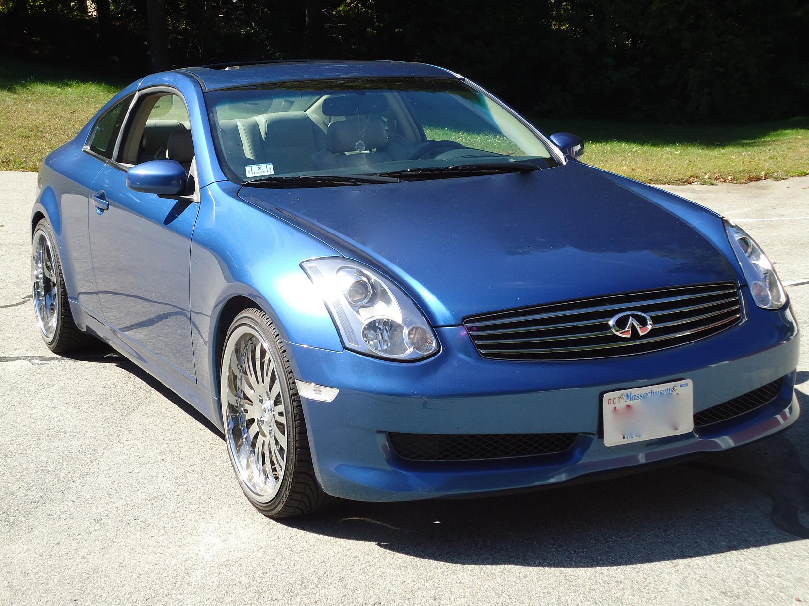 FS 2006 Athens blue G35 Coupe 6spd Low Miles  G35Driver  Infiniti G35  G37 Forum Discussion