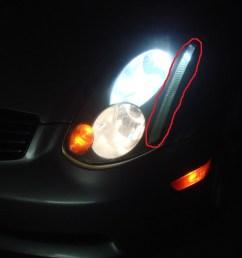 headlight strip light sidestrip jpg [ 1024 x 768 Pixel ]