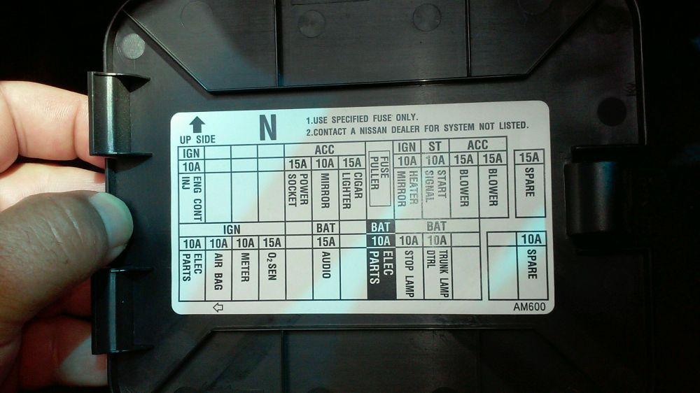 medium resolution of nissan patrol gq fuse box diagram wiring librarynissan patrol gq fuse box 20